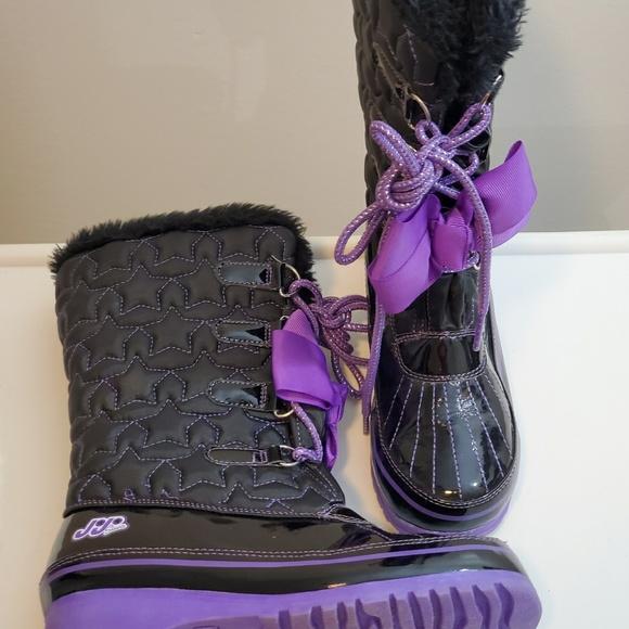 Jojo Siwa Girls Wintersnow Boots Size 2